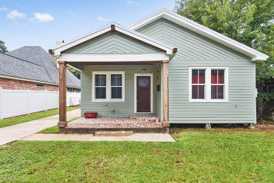 Single Family Home For Sale: 1413 W St Mary Boulevard