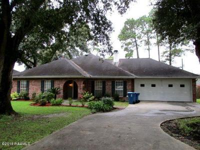 Lafayette Single Family Home For Sale: 106 Chastant Boulevard