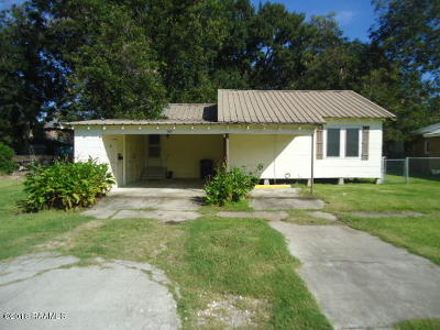 Single Family Home For Sale: 302 Reynolds Avenue