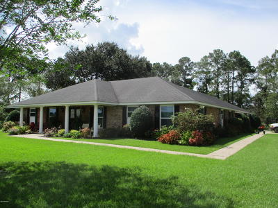 New Iberia Single Family Home For Sale: 503 Cemetery Road Road