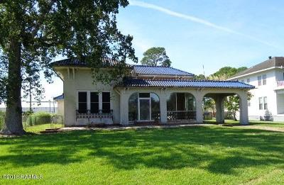 Jeanerette Single Family Home For Sale: 601 E Main Street