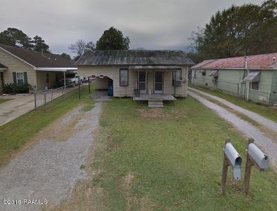 Lafayette LA Single Family Home For Sale: $57,000