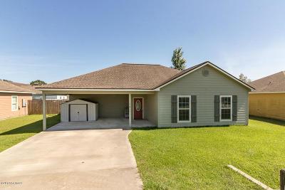 Duson Single Family Home For Sale: 216 Stoneridge Drive