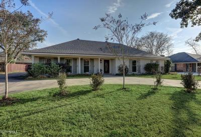 Lafayette Single Family Home For Sale: 711 Doucet Road