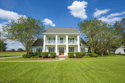 Carencro Single Family Home For Sale: 1105 Rue Des Etoiles