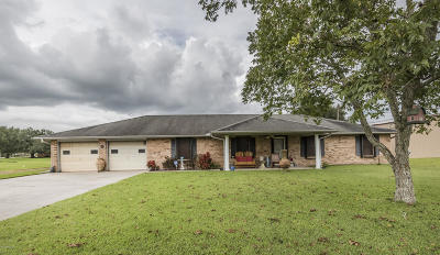 New Iberia Single Family Home For Sale: 3211 Irvin Ransonet Road