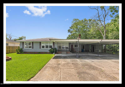 Jennings Single Family Home For Sale: 811 Schriever Street