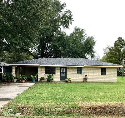 Carencro Single Family Home For Sale: 501 Pope Drive
