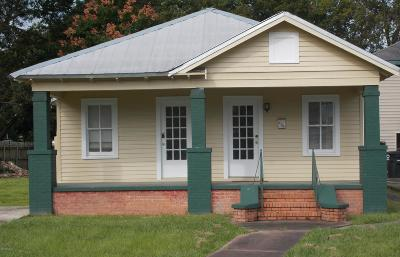 Abbeville Single Family Home For Sale: 404 S Louisiana Street