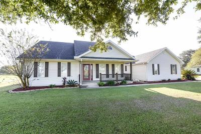 New Iberia Single Family Home For Sale: 6601 Lee Station Road