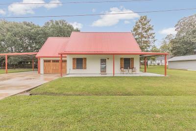 Breaux Bridge Single Family Home For Sale: 1107-A S Main Street