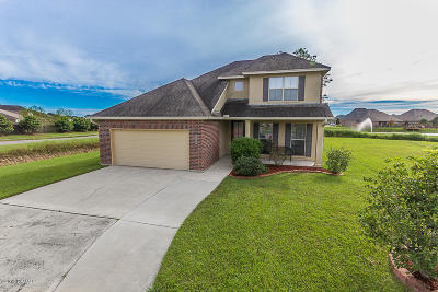 Broussard Single Family Home For Sale: 122 Cypress Sunset Drive