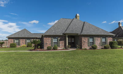 Breaux Bridge Single Family Home For Sale: 1118 Bear Creek Circle