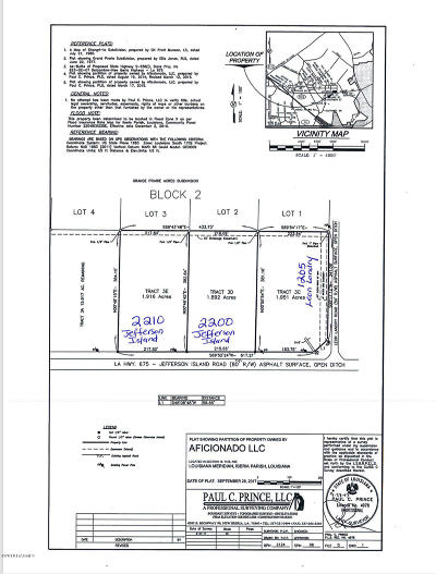 Iberia Parish Residential Lots & Land For Sale: 2204 Jefferson Island Road