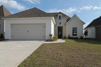 Broussard Single Family Home For Sale: 210 Gentle Island Drive