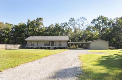Carencro Single Family Home For Sale: 111 Simon Latour Road