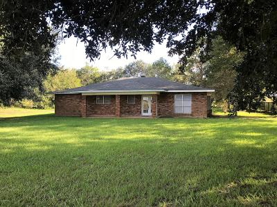 Vermilion Parish Single Family Home For Sale: 14617 Gordon Road