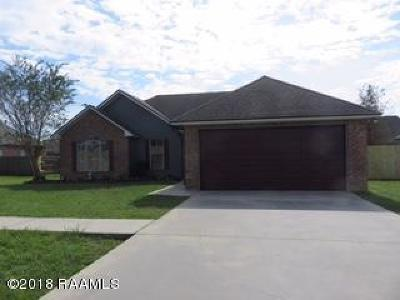 Carencro Single Family Home Active/Contingent: 107 Magnolia Knee Drive