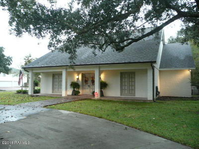 Lafayette Single Family Home For Sale: 508 W Bayou Parkway