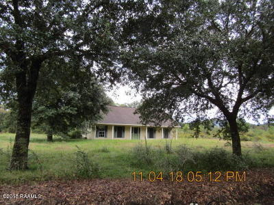 Opelousas Single Family Home For Sale: 182 Berry Road