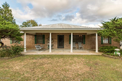 St. Martinville Single Family Home For Sale: 1249-A Bayou Portage Road