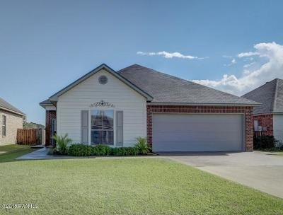 Duson Single Family Home For Sale: 108 Navy Seal Drive