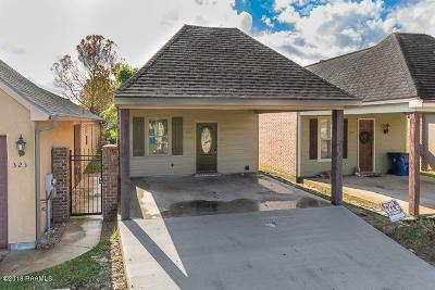 Lafayette  Single Family Home For Sale: 325 Chimney Rock Boulevard