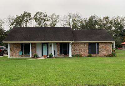 Breaux Bridge Single Family Home For Sale: 1023 Johnson Road
