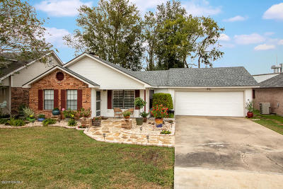 Lafayette Single Family Home For Sale: 909 Rosedown Lane Lane