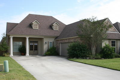 Broussard Single Family Home For Sale: 122 Cane Creek Drive