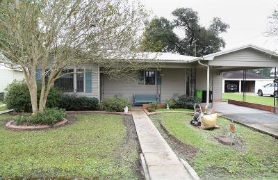 Breaux Bridge Single Family Home For Sale: 237 Ledoux Street