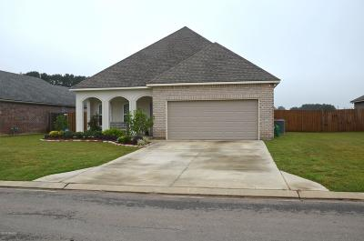 Broussard Single Family Home For Sale: 205 Whispering Meadows Road
