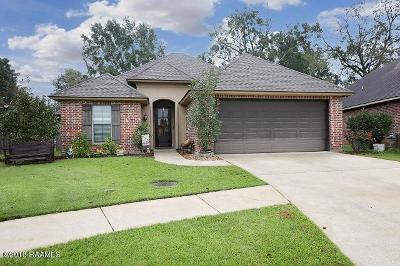 Broussard Single Family Home For Sale: 112 Alma