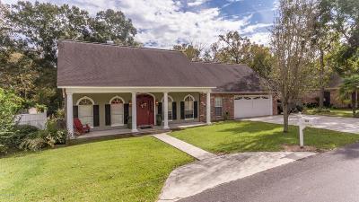 St Martinville, Breaux Bridge, Opelousas Single Family Home For Sale: 216 Cedar Grove Drive