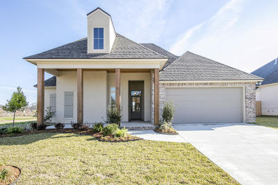 broussard Single Family Home For Sale: 613 Easy Rock Landing Drive