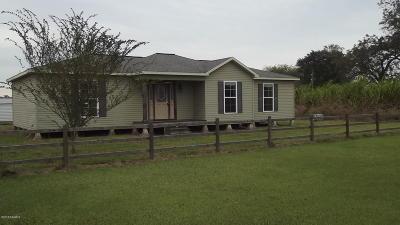 Iberia Parish Single Family Home For Sale: 3416-A Patoutville Road