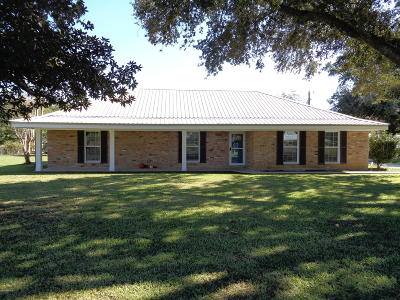 St. Martinville Single Family Home For Sale: 1194 Papit Guidry Road