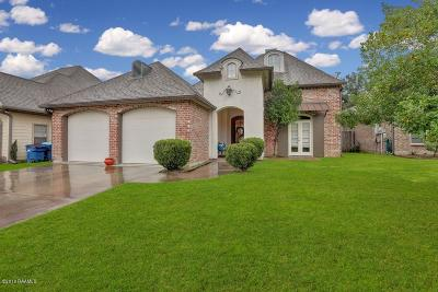 Lafayette Single Family Home For Sale: 203 Metairie Court