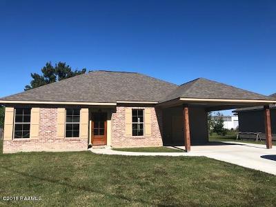 Breaux Bridge Single Family Home For Sale: 479 Broussard Street
