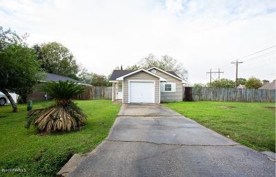 Lafayette Single Family Home For Sale: 125 Darteze Drive