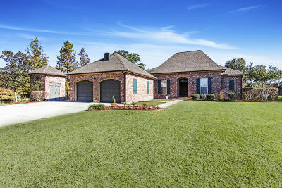 Breaux Bridge Single Family Home For Sale: 1016 Oak Lake Drive