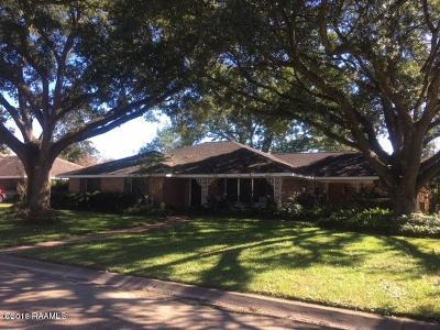 Lafayette Single Family Home For Sale: 203 Wilbert Street