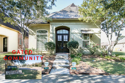 Lafayette Single Family Home For Sale: 304 Nanterre Lane