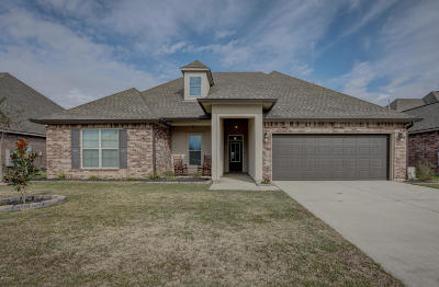 Broussard Single Family Home For Sale: 111 Angel Rock Lane