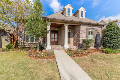 Broussard Single Family Home For Sale: 209 Gleneagles Circle