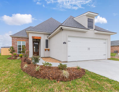 Broussard Single Family Home For Sale: 202 Tennyson Drive