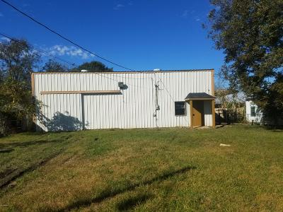 Vermilion Parish Commercial For Sale: 414 Laporte Street