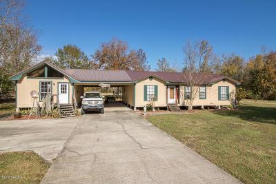 Breaux Bridge Single Family Home For Sale: 1205 Courville Road