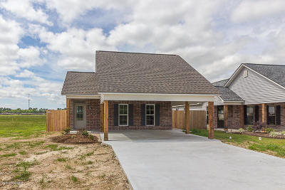 St Martinville, Breaux Bridge, Abbeville Single Family Home For Sale: 314 Harvest Lane
