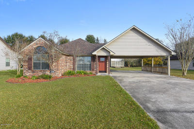 Carencro Single Family Home For Sale: 118 Ridge Run Lane